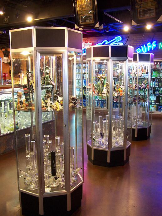 Heady Tubes and Pipes at Puff n Stuff